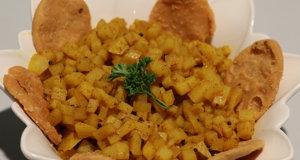 Potato Puri Recipe | Food Diaries