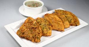 Punjabi Naan Pakora Recipe | Lazzat
