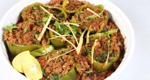 Qeema Bhari Shimla Mirch Recipe | Flame On Hai