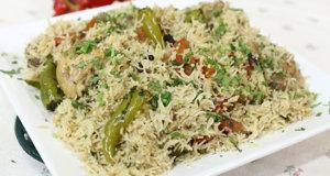 Spicy Degi Chicken Pulao Recipe | Lazzat