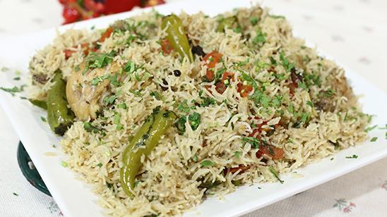 Spicy Degi Chicken Pulao Recipe   Lazzat