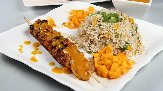 Thai Mango Fried Rice Recipe | Dawat
