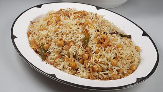 Chana Pulao Recipe   Dawat