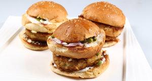 Chicken Bun Kabab Recipe | Food Diaries