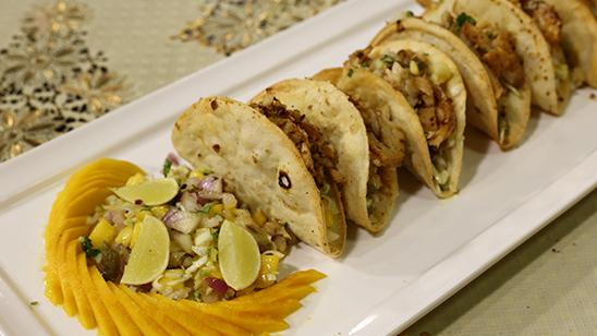 Fish Tacos With Mango Salsa Recipe | Dawat