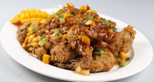 Spicy Pineapple And Mango Wings Recipe | Lazzat