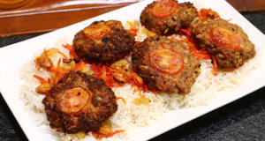 Afghani Rice With Chapli Kabab Recipe | Flame On Hai