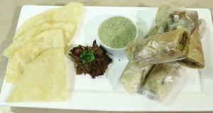Bihari Kabab Chutney Roll Recipe | Flame On Hai