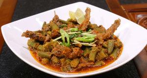Bhindi Chaanp Recipe | Flame On Hai