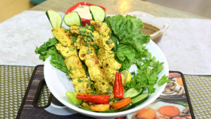 Chicken Stick Boti Recipe   Tarka