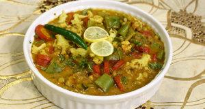 Kolhapuri Vegetable Recipe | Dawat