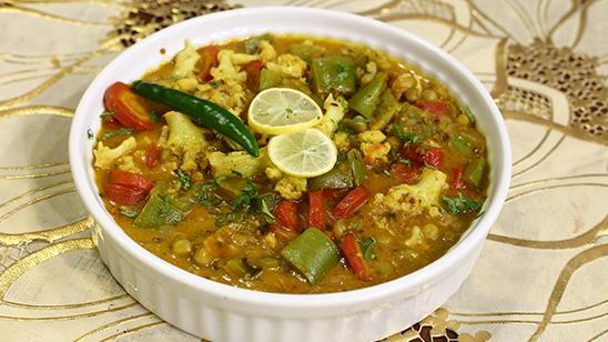 Kolhapuri Vegetable Recipe   Dawat