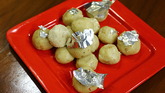 Malai Laddu Recipe | Dawat