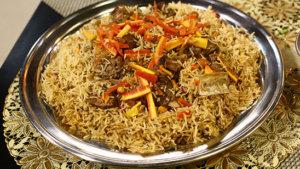 Mutton Rice Recipe   Tarka
