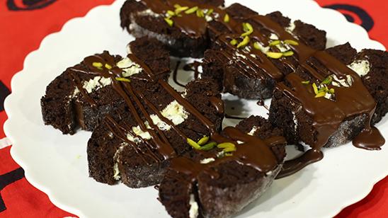 Pistachio Chocolate Roulade Recipe   Food Diaries