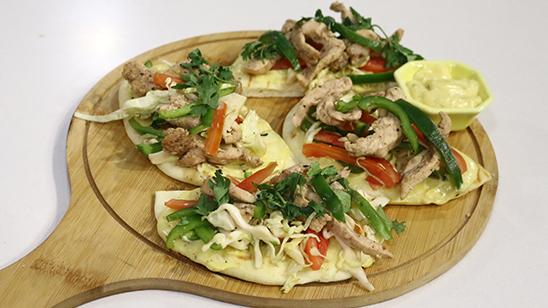 Pita Chicken Pockets Recipe | Lively Weekends