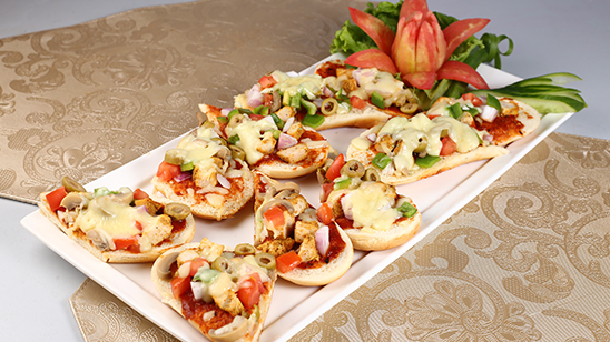 Pizza Sandwich Recipe | Masala Mornings