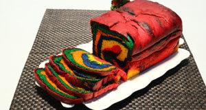 Rainbow Bread Recipe | Masala Mornings
