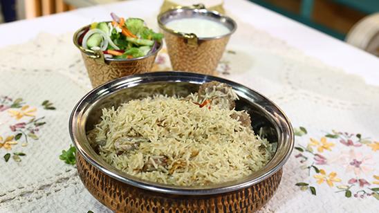 Zafrani Chaanp Pulao Recipe | Masala Mornings