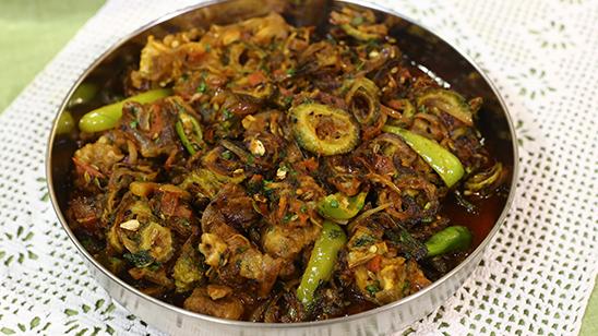 Karelay Gosht Recipe   Lazzat