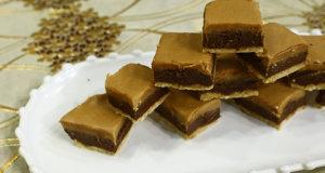 Mini Peanut Butter Bars Recipe | Dawat