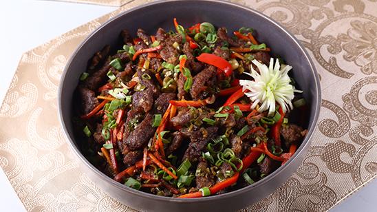 Sticky Chili Beef Recipe | Lazzat