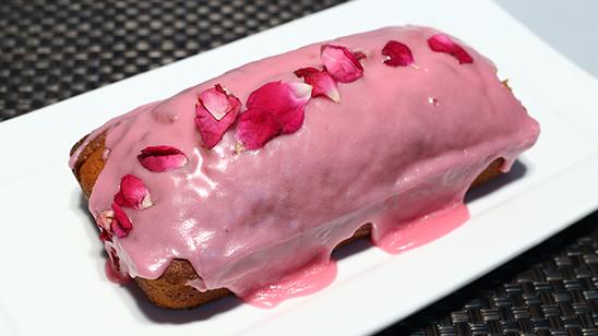 Almond Rose Cake Recipe | Masala Mornings