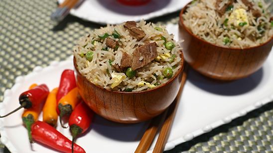 Beef Fried Rice Recipe   Lazzat