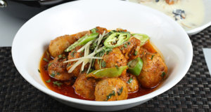 Black Pepper Kofta Karahi Recipe | Flame On Hai