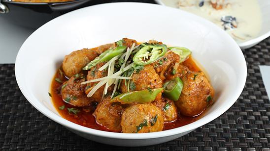 Black Pepper Kofta Karahi Recipe   Flame On Hai