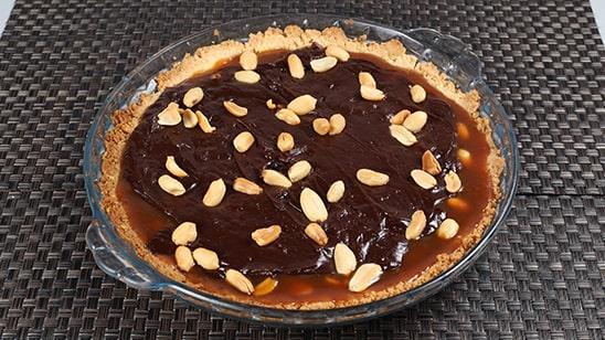 Chocolate Peanut Caramel Tart Recipe | Food Diaries