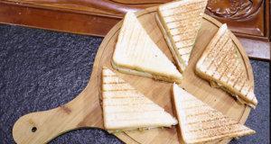Cheesy Beef Sandwich Recipe| Flame On Hai