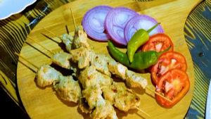 Spicy Malai Chicken Recipe | Flame On Hai