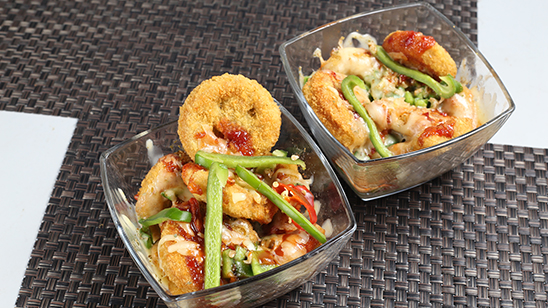 Chicken Nuggets with Cheese Recipe   Tarka
