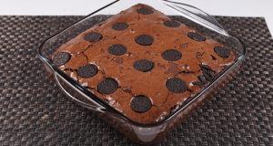Dark Cookie Brownie Recipe | Food Diaries
