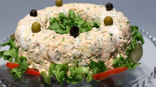 Frozen Salad Mold Recipe | Food Diaries