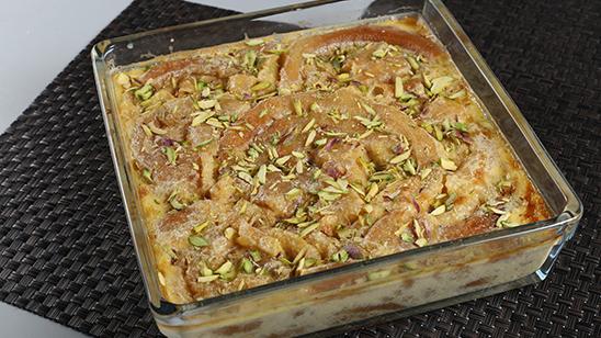 Jalebi Pudding Recipe   Lazzat