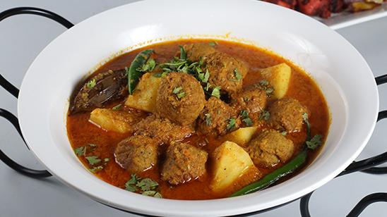 Kofta Aalu Recipe   Tarka