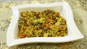 Khagina Recipe   Tarka