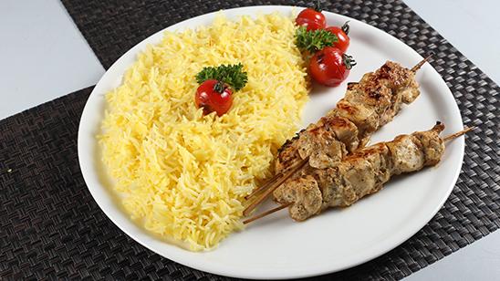 Persian Kabab with Saffron Rice Recipe | Lazzat