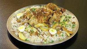 Sajji Rice Recipe   Tarka