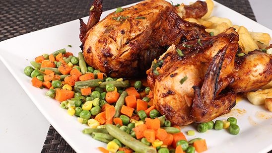 Whole Grilled Chicken Recipe | Masala Mornings