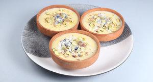 Zafrani Coconut Kheer Recipe | Lazzat
