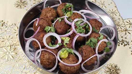 Fried Gola Kabab Recipe   Tarka
