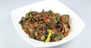 Hyderabadi Bhindi Recipe | Tarka