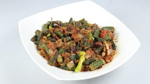 Hyderabadi Bhindi Recipe   Tarka