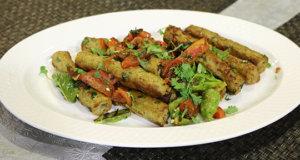 Dhaniya Seekh Kabab Recipe | Tarka