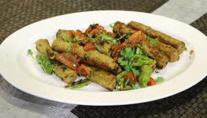 Dhaniya Seekh Kabab Recipe   Tarka