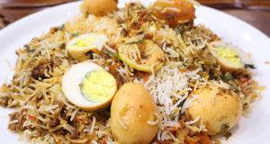 Anda Qeema Biryani Recipe | Flame On Hai