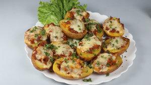 Chicken Chili Potato Skins Recipe   Masala Mornings